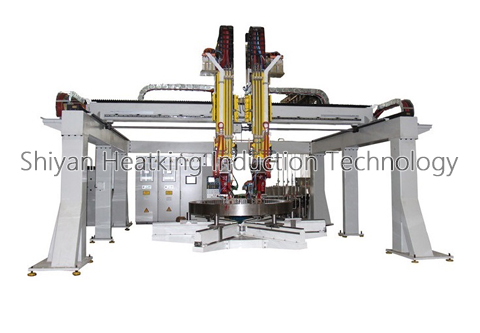 Slewing Bearing Single Gear Hardening Machine