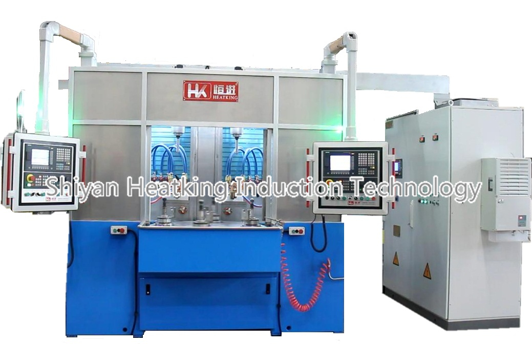 ball stud induction hardening machine